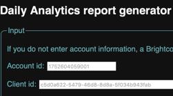 Daily Analyticsレポートジェネレータ