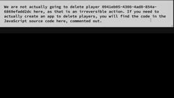 削除 Players