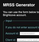 MRSS-Generator